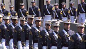 女陸官生送訓西點軍校 體測難過生心病!告假返台休養 圖/翻攝自 West Point - The U.S. Military Academy YouTube