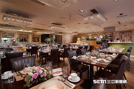 六國餐廳,吃到飽餐廳,台北花圃大酒店。(圖/台北花圃大酒店供應)