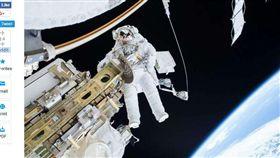 俄羅斯,外太空,漫步,觀光客,太空站,旅行,減價,折扣(圖/翻攝自phys.org)https://phys.org/news/2018-02-russia-spacewalks-tourists.html