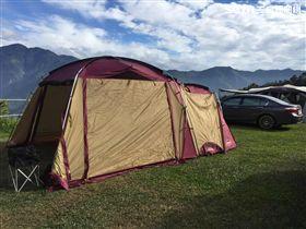 露營,帳篷,(圖/蘇怡璇攝)
