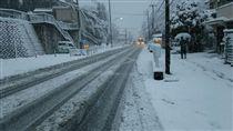 日本,下雪,大雪,東京,北海道,積雪,交通,航班,嚴寒(圖/翻攝自推特@ame_daikiraida)https://twitter.com/search?q=%E5%A4%A7%E9%9B%AA&src=typd&lang=zh-tw