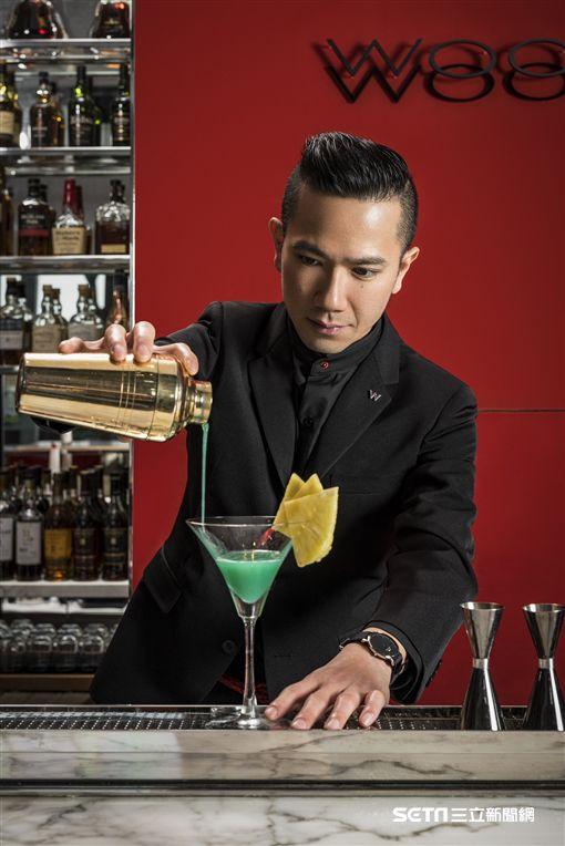 台北W飯鋪WOOBAR,信義區酒吧。(圖/台北W飯鋪供應)