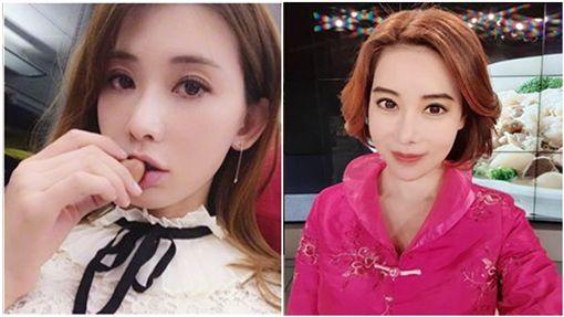 斯容,林志玲(合成圖/翻攝自臉書、微博)