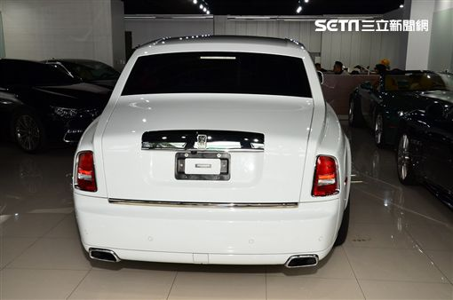 全亞洲獨一的Rolls Royce Phantom Art Deco。(圖/鍾釗榛攝影)