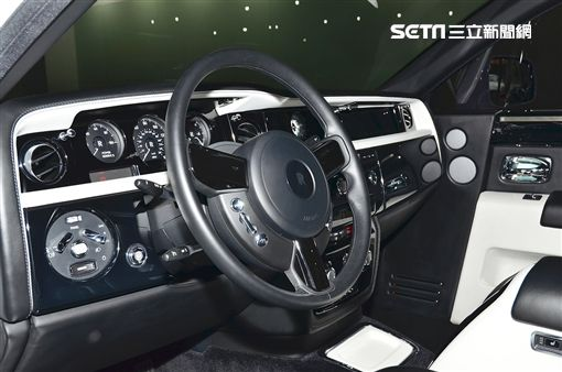 全亞洲唯一的Rolls Royce Phantom Art Deco。(圖/鍾釗榛攝影)