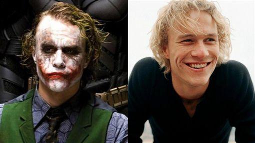 希斯萊傑,Heath Ledger,小丑(圖/推特)