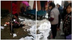 中國大陸6歲女童失足從13樓墜樓慘死。(圖/翻攝自澎湃新聞)