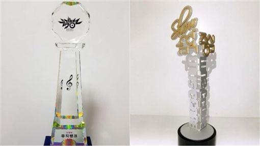 SHINee,鐘鉉,音樂銀行,音樂中心。(合成圖/翻攝自SHINee IG)