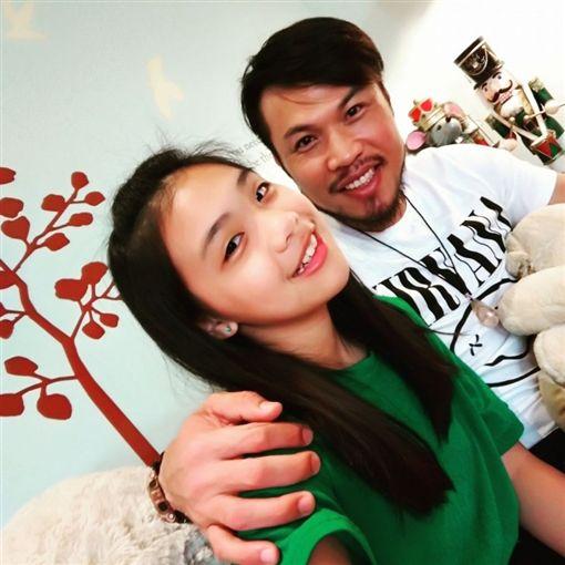 ▲TPE48一期生陳琳,是前職棒選手陳致遠和藝人秀琴的女兒。(圖/翻攝自臉書