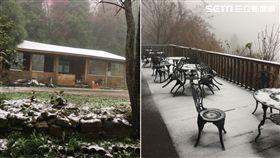 苗栗下雪 一葉蘭民宿提供