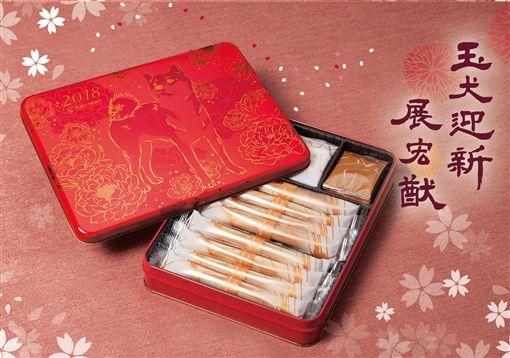-最想收到的限量頂級新年禮-中國風金犬迎春禮盒、日式風柴犬賀年禮盒、始終如一的對峙與講求,顯現咀嚼與美味的完善結合圖/業者供應