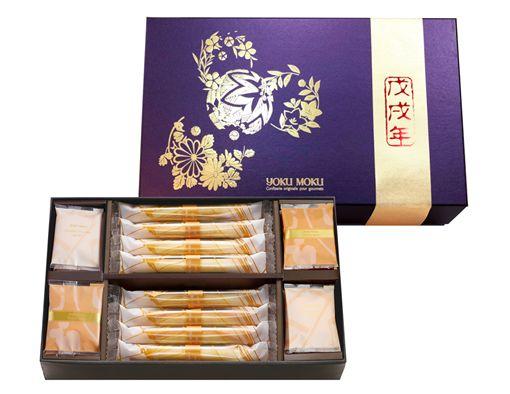 -最想收到的限量頂級新年禮-中國風金犬迎春禮盒、日式風柴犬拜年禮盒、持之以恒的對峙與講求,呈現咀嚼與甘旨的完善結合圖/業者供應