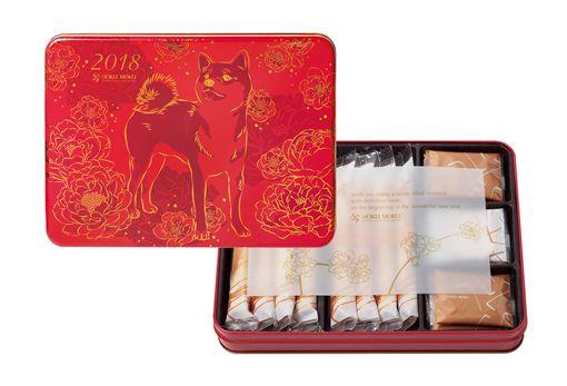 -最想收到的限量頂級新年禮-中國風金犬迎春禮盒、日式風柴犬拜年禮盒、持之以恒的對峙與講求,呈現咀嚼與甘旨的完善連系圖/業者供給