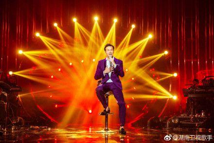 李聖傑登《歌手》 翻攝自微博
