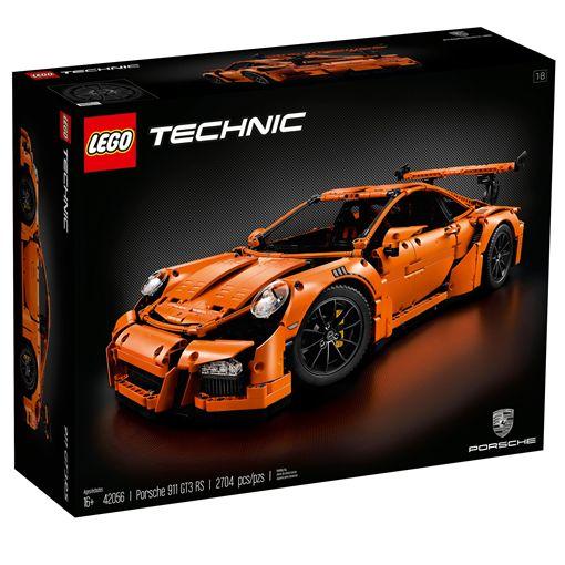 Porsche 911 GT3 RS積木模子開啟精緻高價積木模子時期。(圖/翻攝Lego網站)