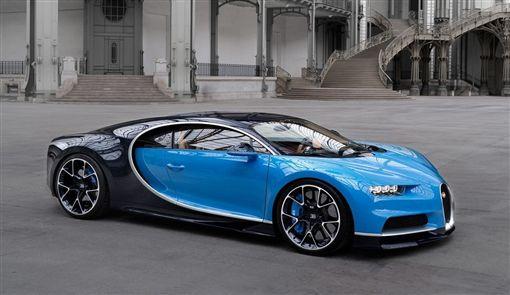 新世代的Bugatti Chiron超跑。(圖/翻攝Bugatti網站)