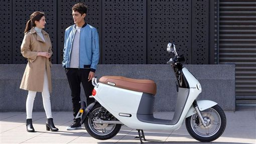 跨越百台的Gogoro 2系列於今年炎天在西班牙馬德里奔馳。(圖/Gogoro供給)