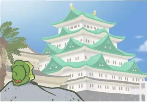 青蛙旅行。(圖/翻攝自網路)