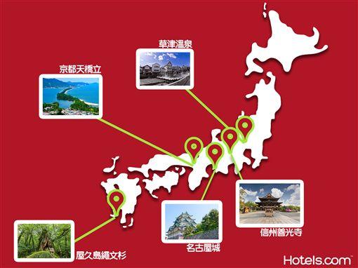 青蛙旅行,推薦住宿。(圖/hotels.com提供)