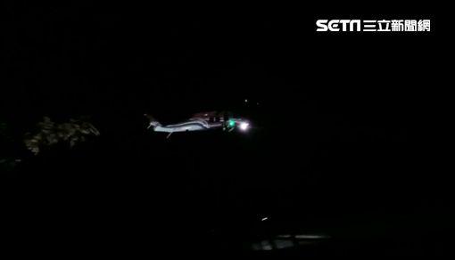 疑墜毀的黑鷹直升機起飛畫面_台東縣議員黃天德