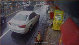影/台灣鯛?「點湯包」車停店門口 BMW女沒付錢急落跑 「爆料公社」臉書