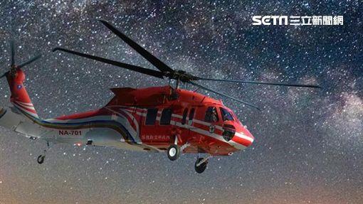 黑鷹直升機UH-60M 圖/翻攝空勤總隊