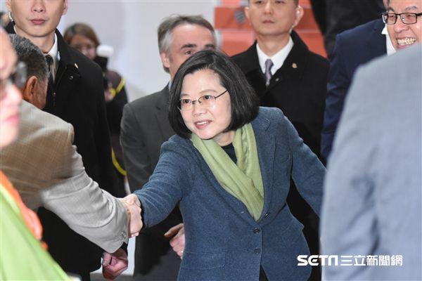 總統蔡英文出席第26屆國際書展。 圖/記者林敬旻攝