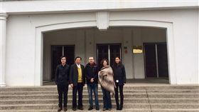 林靜儀、外國學者走訪中興新村 圖/林靜儀辦公室提供