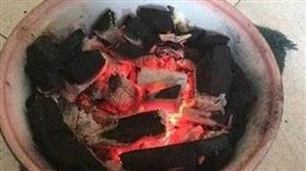 燒炭(圖/翻攝自百度)