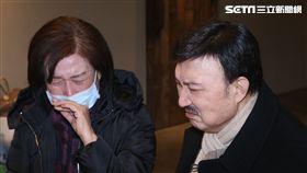 乾媽林雅涵憶乾爸痛哭(圖/蔡世偉攝)