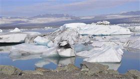 暖化,北極,冰川(圖/翻攝自Pixabay)