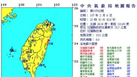 0206/23:50地震+921地震