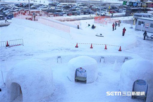 日本三井OUTLET札幌北廣島打造冬之樂園,首辦「雪祭」吸客。(圖/三井OUTLET札幌北廣島提供)