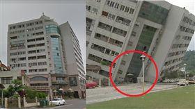 強震擠壓變形…整層樓不見!雲門翠堤大樓對照圖曝光  圖/資料照、Google map