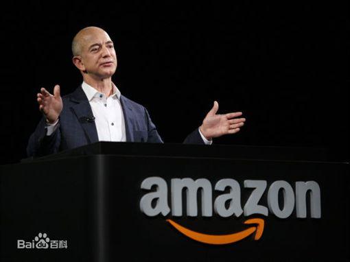 亞馬遜公司CEO傑夫•貝索斯(圖/翻攝自百度)
