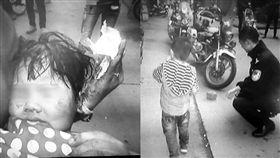 天降砖头把2岁女童砸成重伤 法院判18位租客一起赔(圖/翻攝自都市快报)
