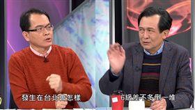 台大地質系教授認為,若大台北發生大地震,恐怕半個台北房子都倒光了。(圖/翻攝YouTube)