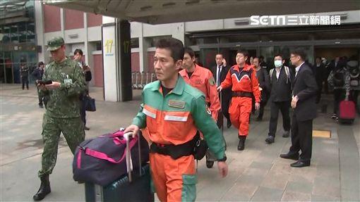 日本派警消組成的專家團隊來台協助救災