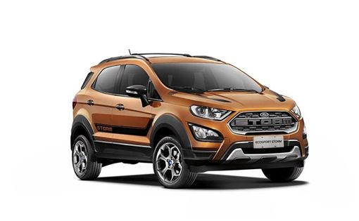 Ford EcoSport Storm。(圖/翻攝Ford網站)