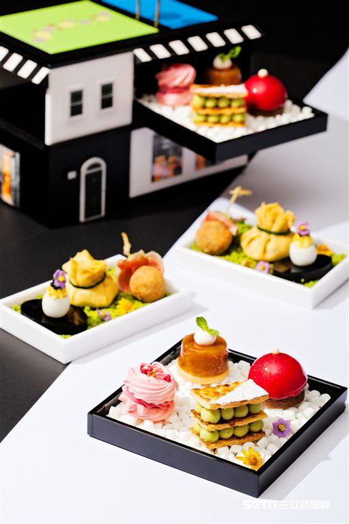 寒舍艾麗「巴黎假期:甜醺午茶」。(圖/寒舍艾麗提供)