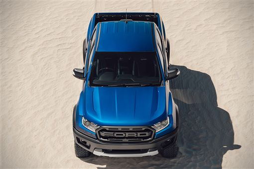 由Ford Performance操刀的Ford Ranger Raptor。(圖/翻攝Ford網站)