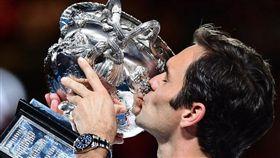 ▲費德勒今年於澳網封王。(圖/翻攝自Roger Federer Instagram)