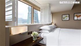 台北君悅酒店,行政景觀客房。(圖/君悅提供)