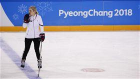 ▲南北韓女子冰上曲棍球聯隊總教練Sarah Murray。(圖/美聯社/達志影像)