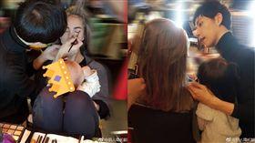 昆凌,兒女,Hathaway,小周周,Romeo,(合成圖/翻攝自劉人瑋貳創造型微博)