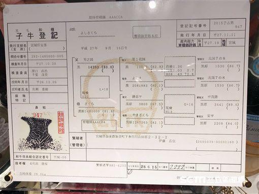台北晶華,三燔本家,柿安牛,日本和牛。(圖/記者簡佑庭攝)