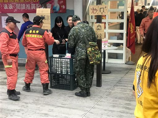 KID,林柏昇,花蓮地震(圖/翻攝自臉書)