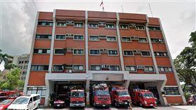 台北市消防局雙園分隊外觀(翻攝自Google Map)
