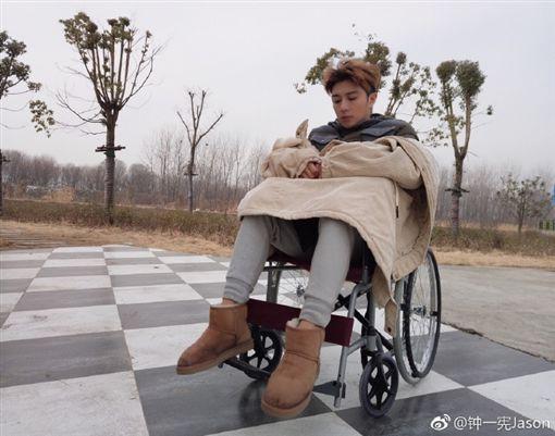 鍾一憲(圖/翻攝自微博)