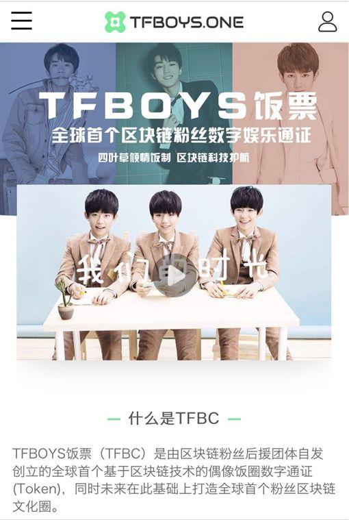 TFBOYS,王俊凱,王源,易烊千璽,虛擬貨幣(圖/翻攝自TFBOYS飯票)